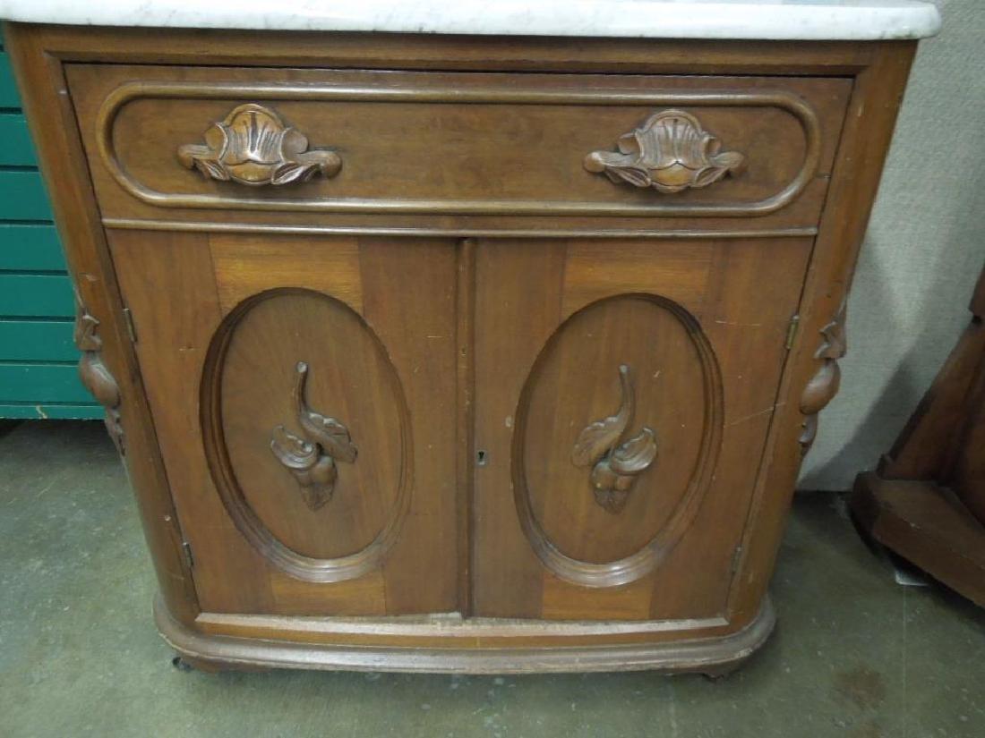 Rococo Revival Washstand - 2