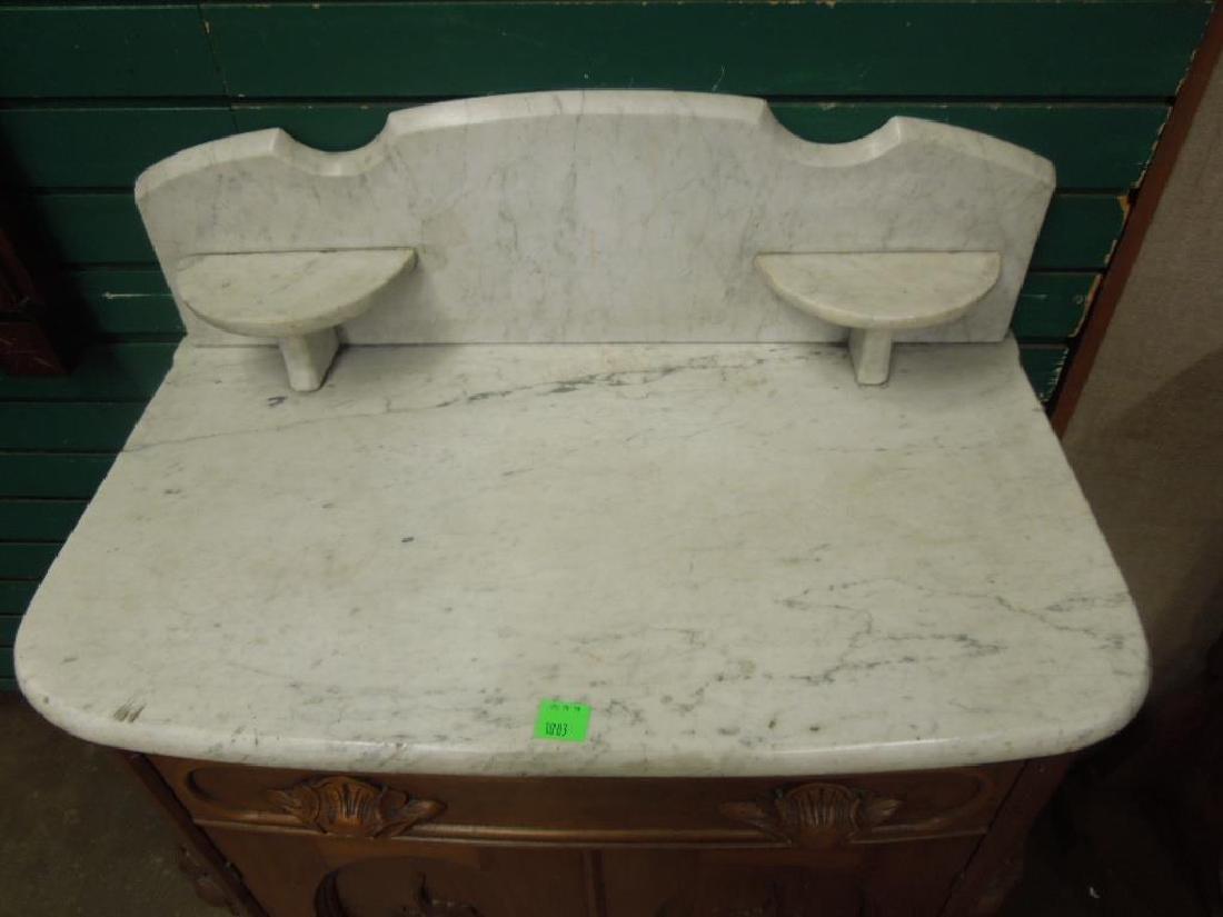 Rococo Revival Washstand - 3