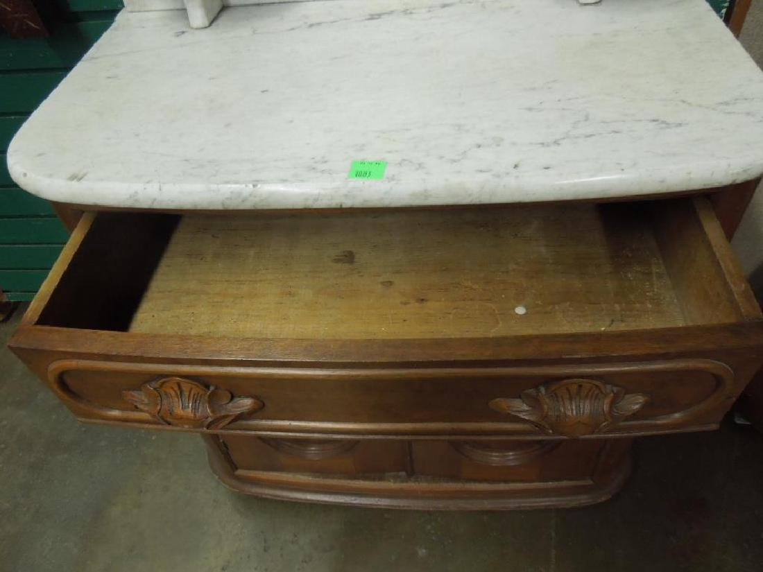 Rococo Revival Washstand - 4