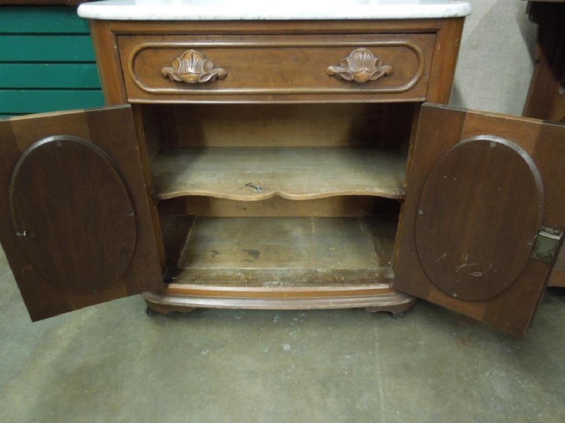 Rococo Revival Washstand - 5