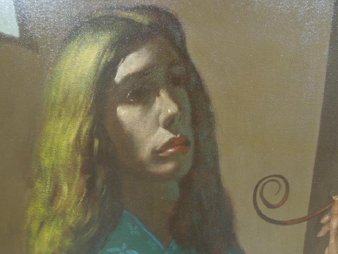 Ian Oil on Canvas - 10