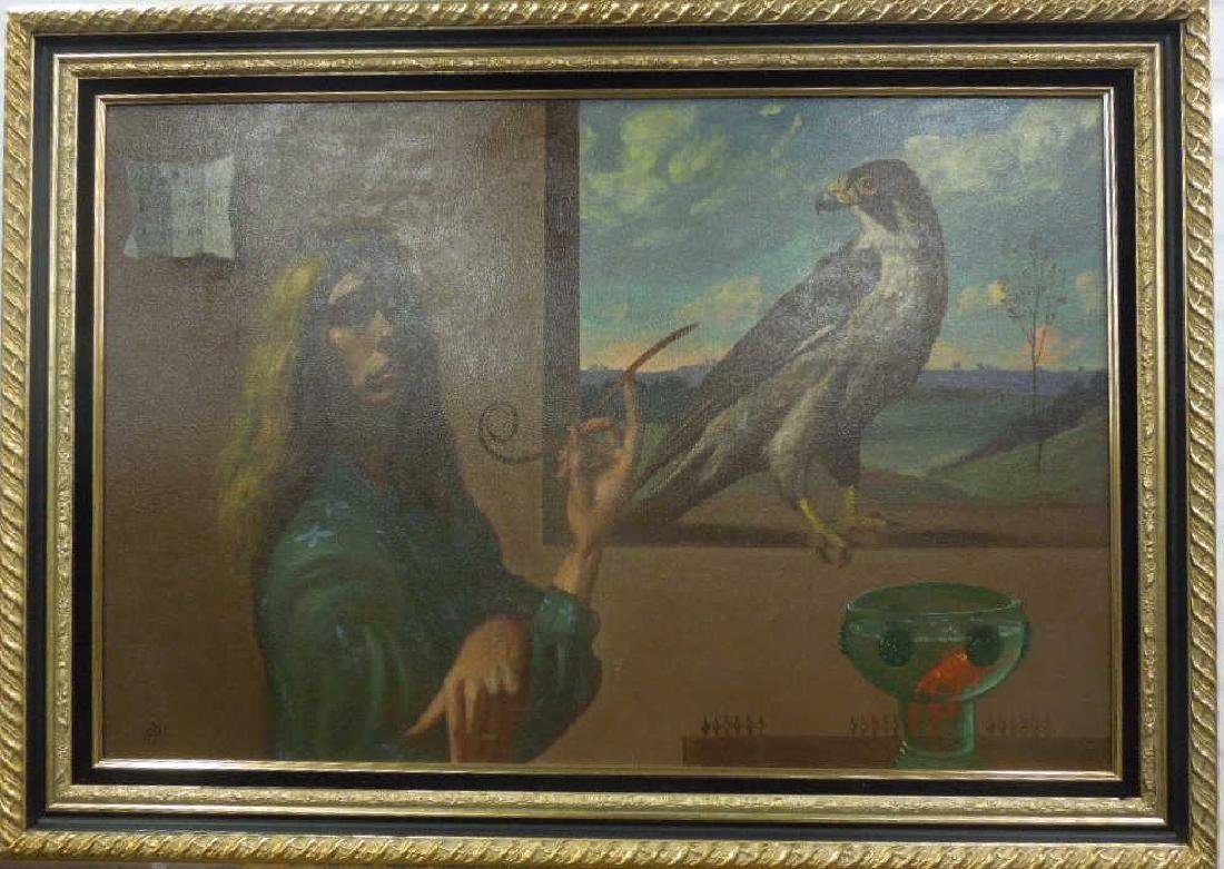 Ian Oil on Canvas