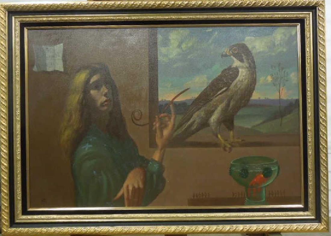 Ian Oil on Canvas - 2