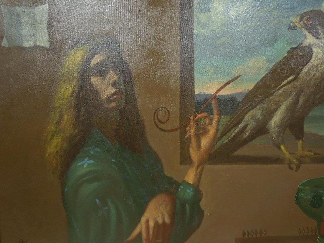 Ian Oil on Canvas - 3