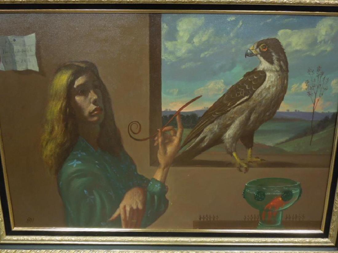 Ian Oil on Canvas - 4