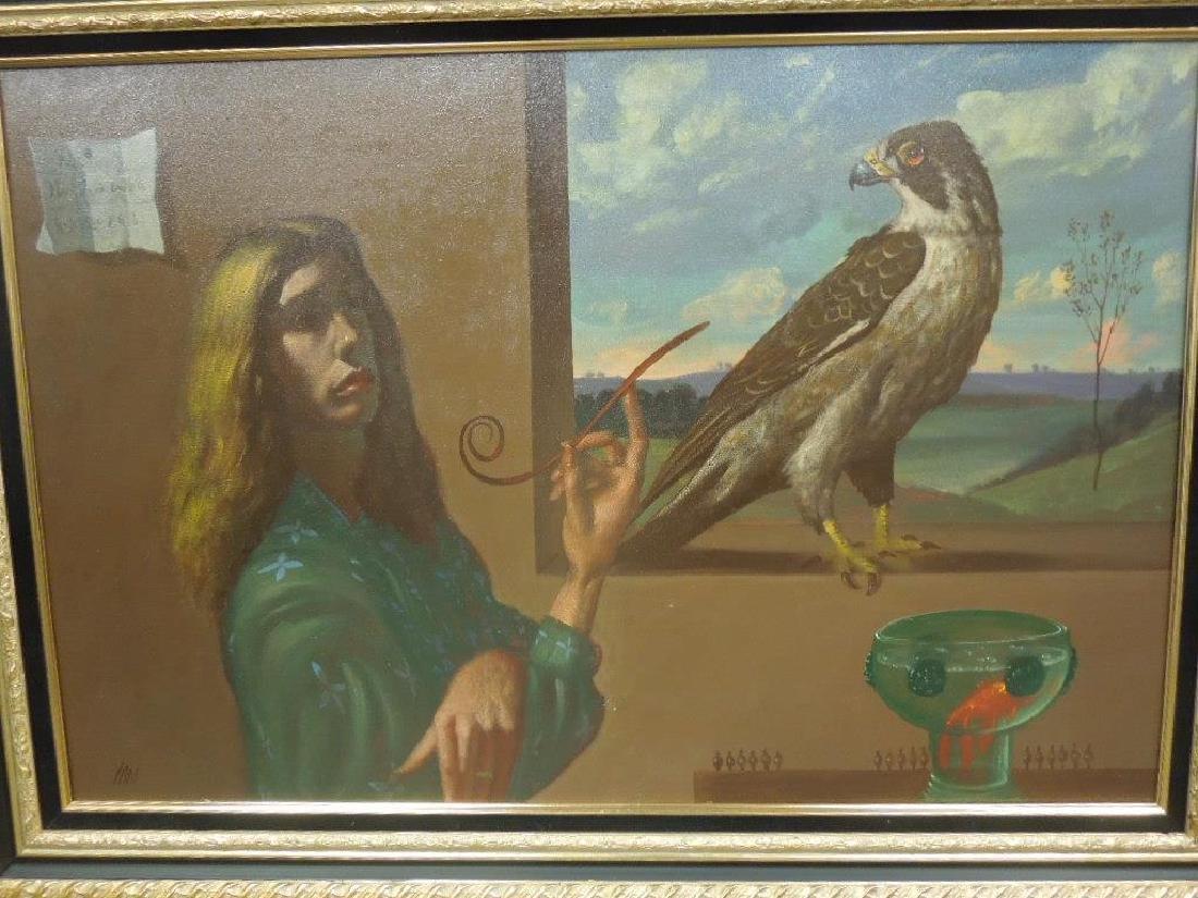 Ian Oil on Canvas - 5