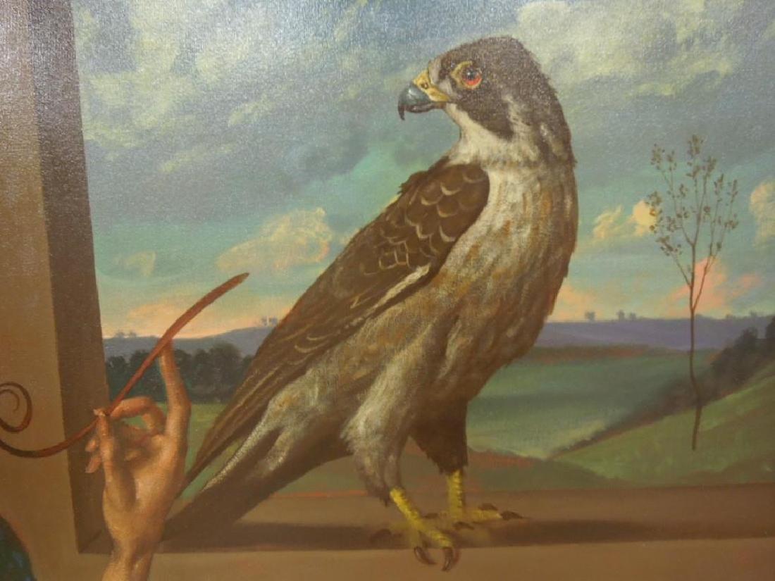 Ian Oil on Canvas - 6