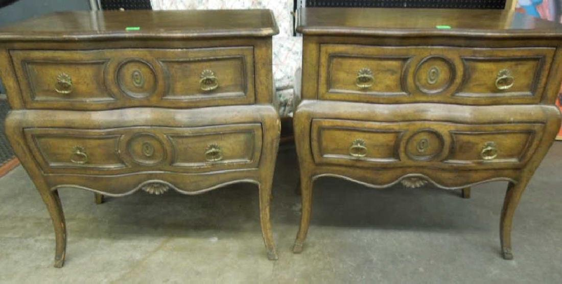 Pr French Provincial Commodes