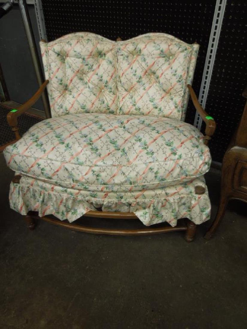 Country French Style Love Seat