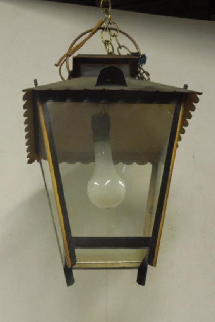 Toleware Hanging Lantern
