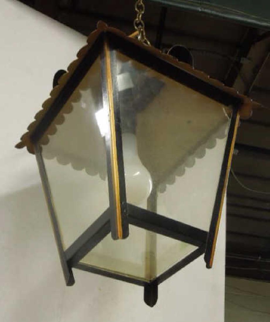 Toleware Hanging Lantern - 2