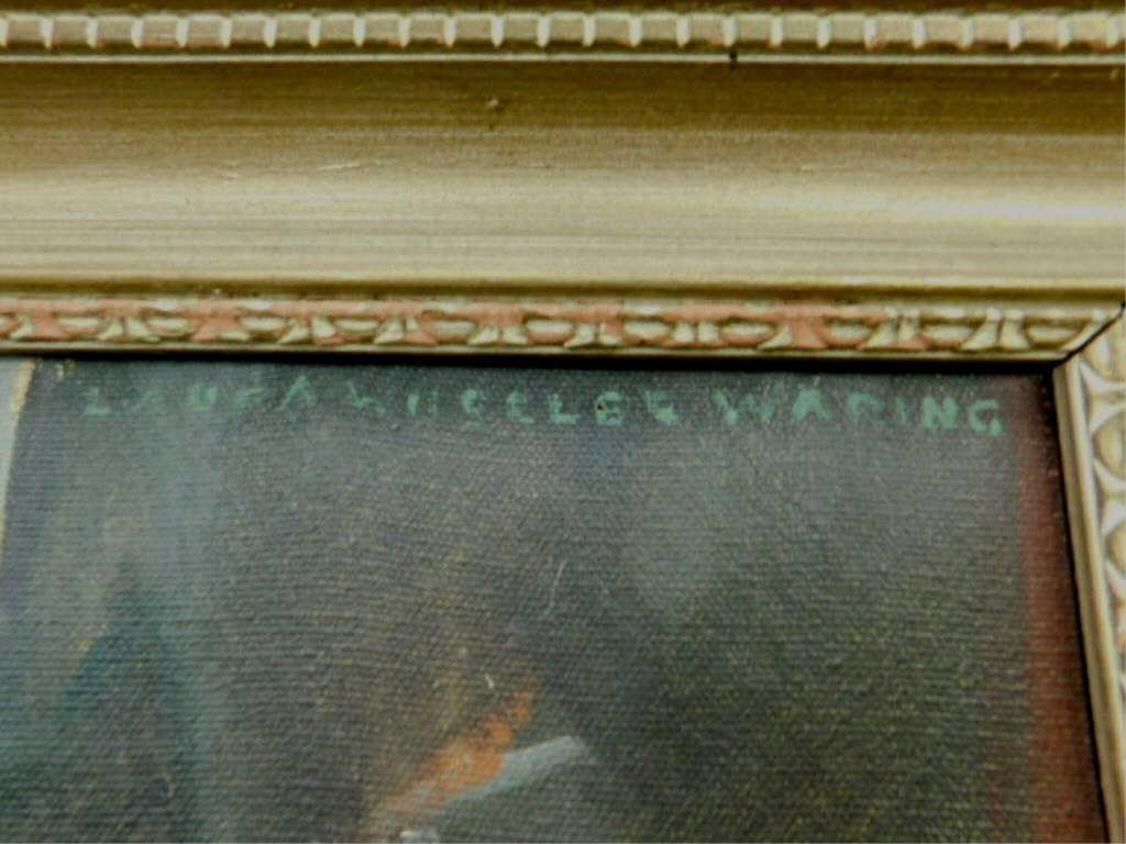 L. Wheeler Waring, o/c, Portrait, James Weldon Johnson - 7