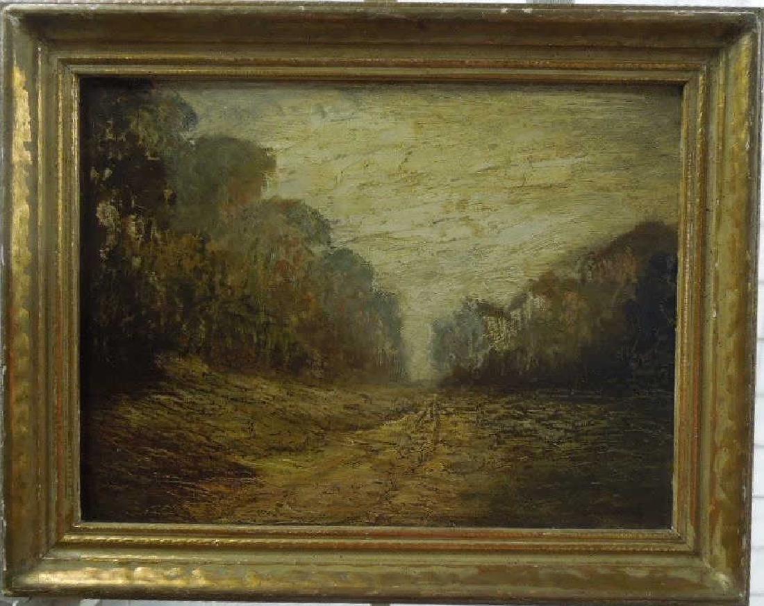 W.[illiam] H. Crocker Oil on Artist Board