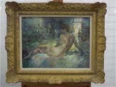P(aul) Williams Oil on Canvas