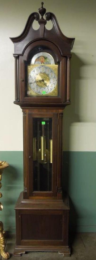 Chippendale Style Tall Case Clock