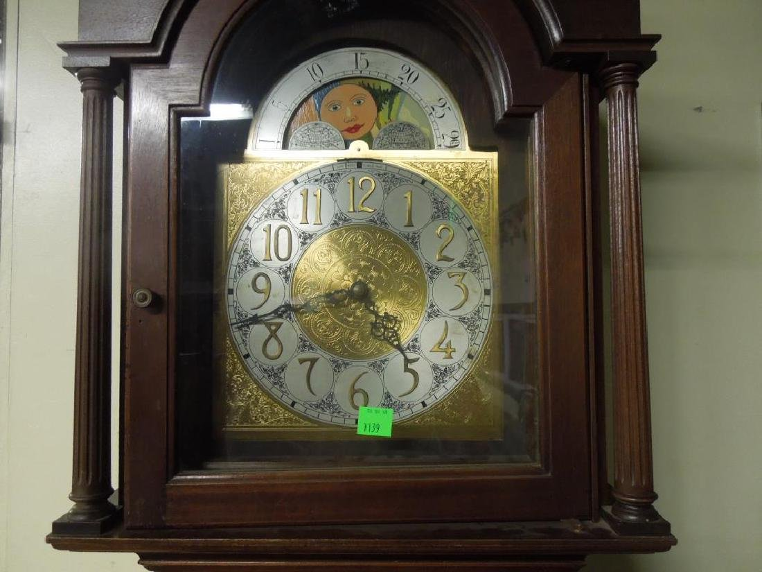 Chippendale Style Tall Case Clock - 3