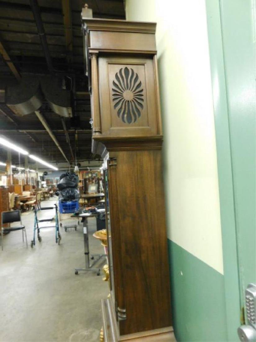 Chippendale Style Tall Case Clock - 8