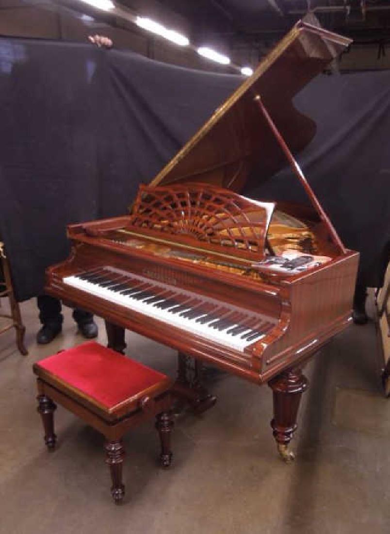 Bechstein Medium Grand Piano & Bench - 2