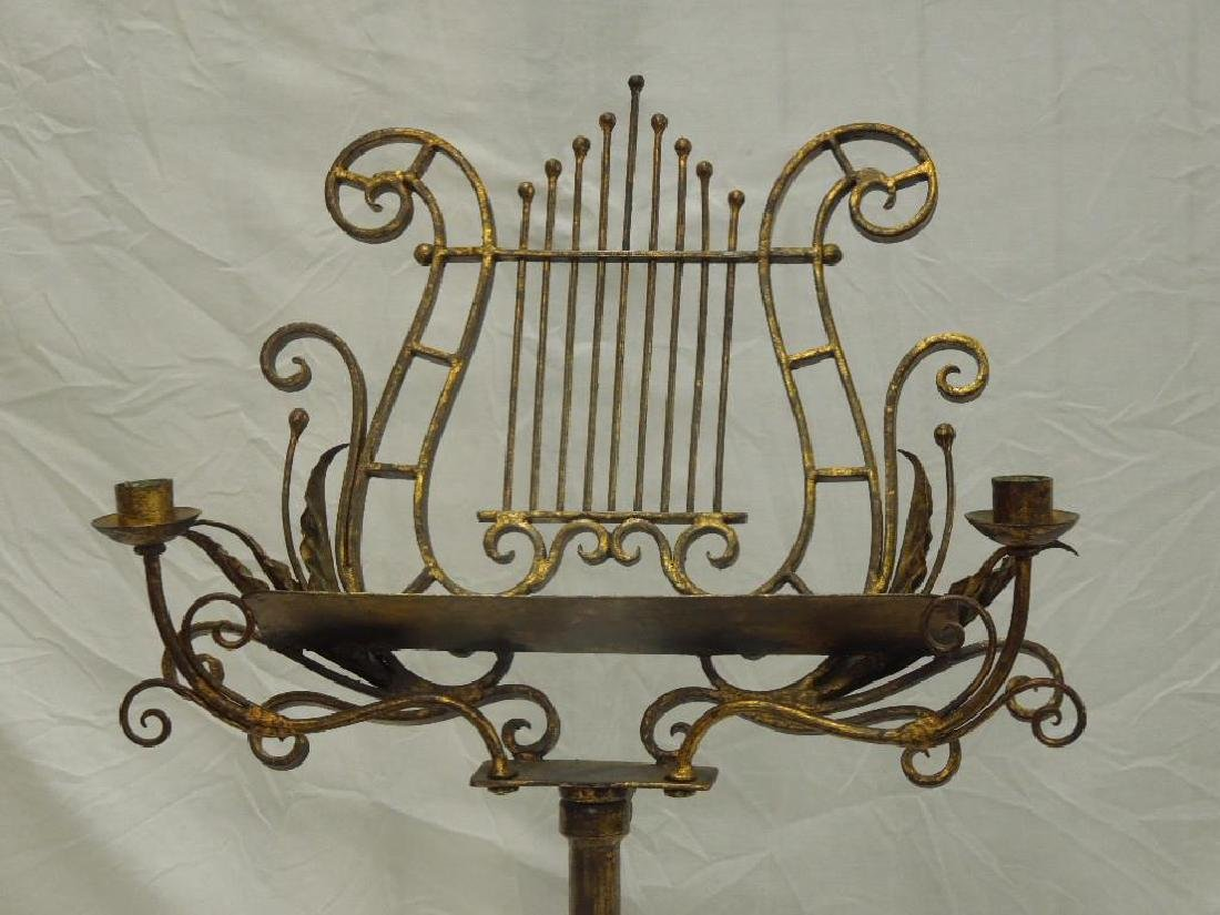Wrought Iron Music Stand - 2