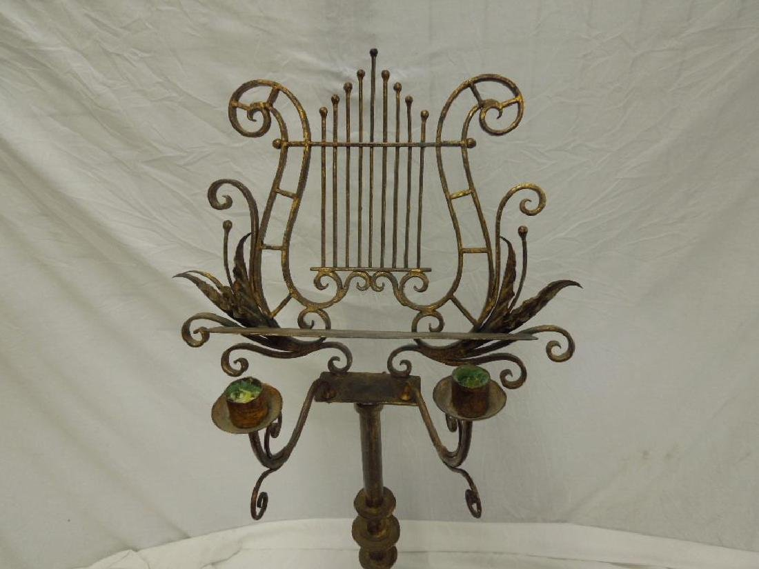 Wrought Iron Music Stand - 4