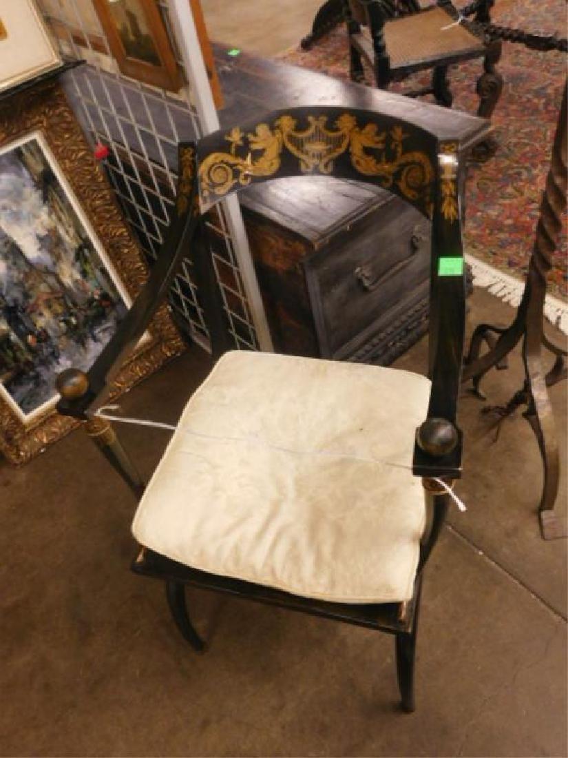 Directoire Fancy Arm Chair