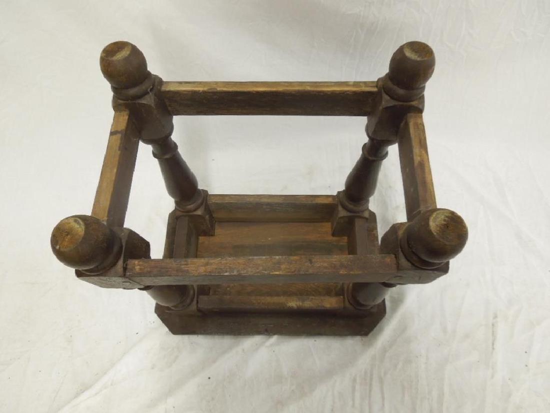 Continental Jacobean Style Stool - 3