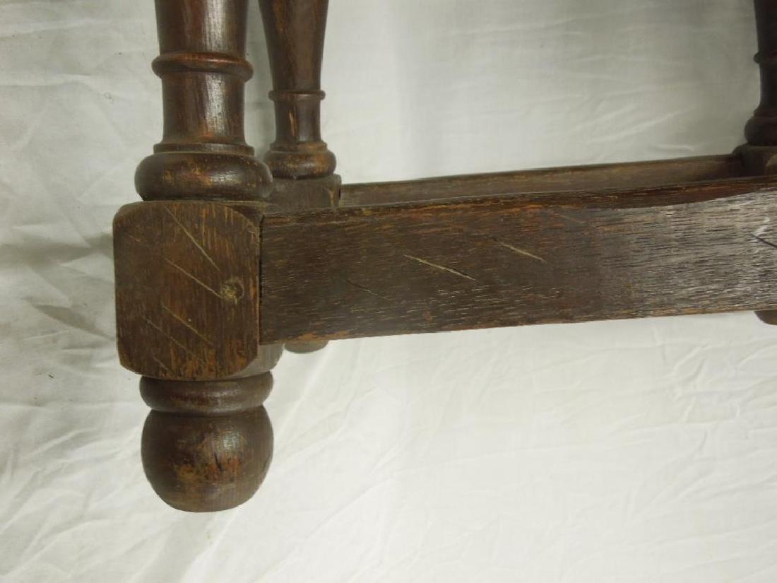 Continental Jacobean Style Stool - 5