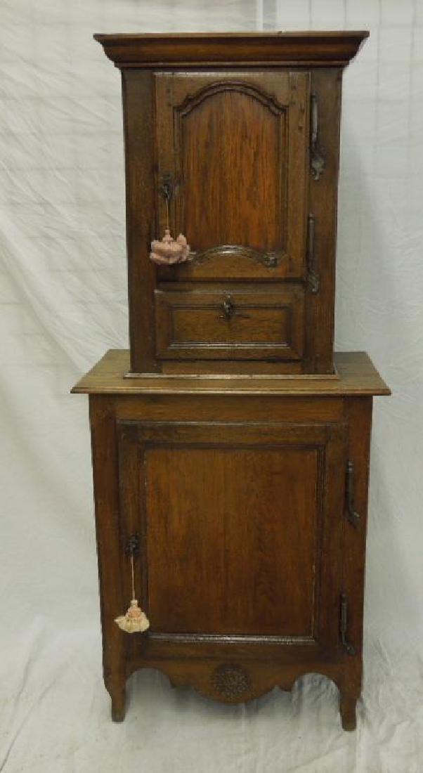 Antique French Provincial Lingerie Cabinet