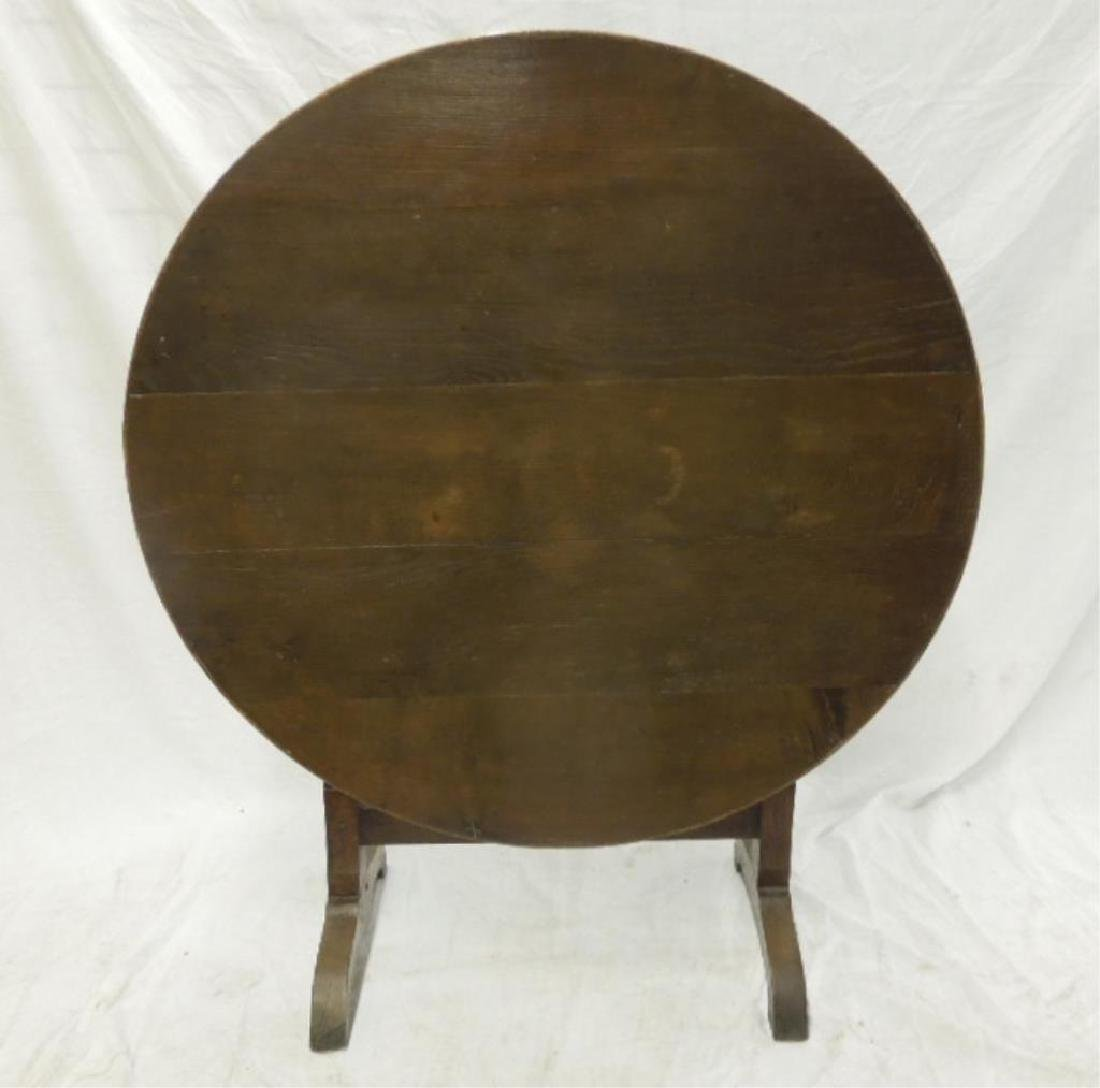 Arts & Crafts Style Tilting Breakfast Table