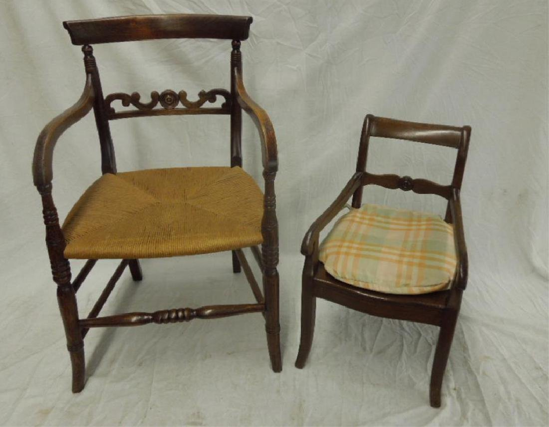 2 French Chairs