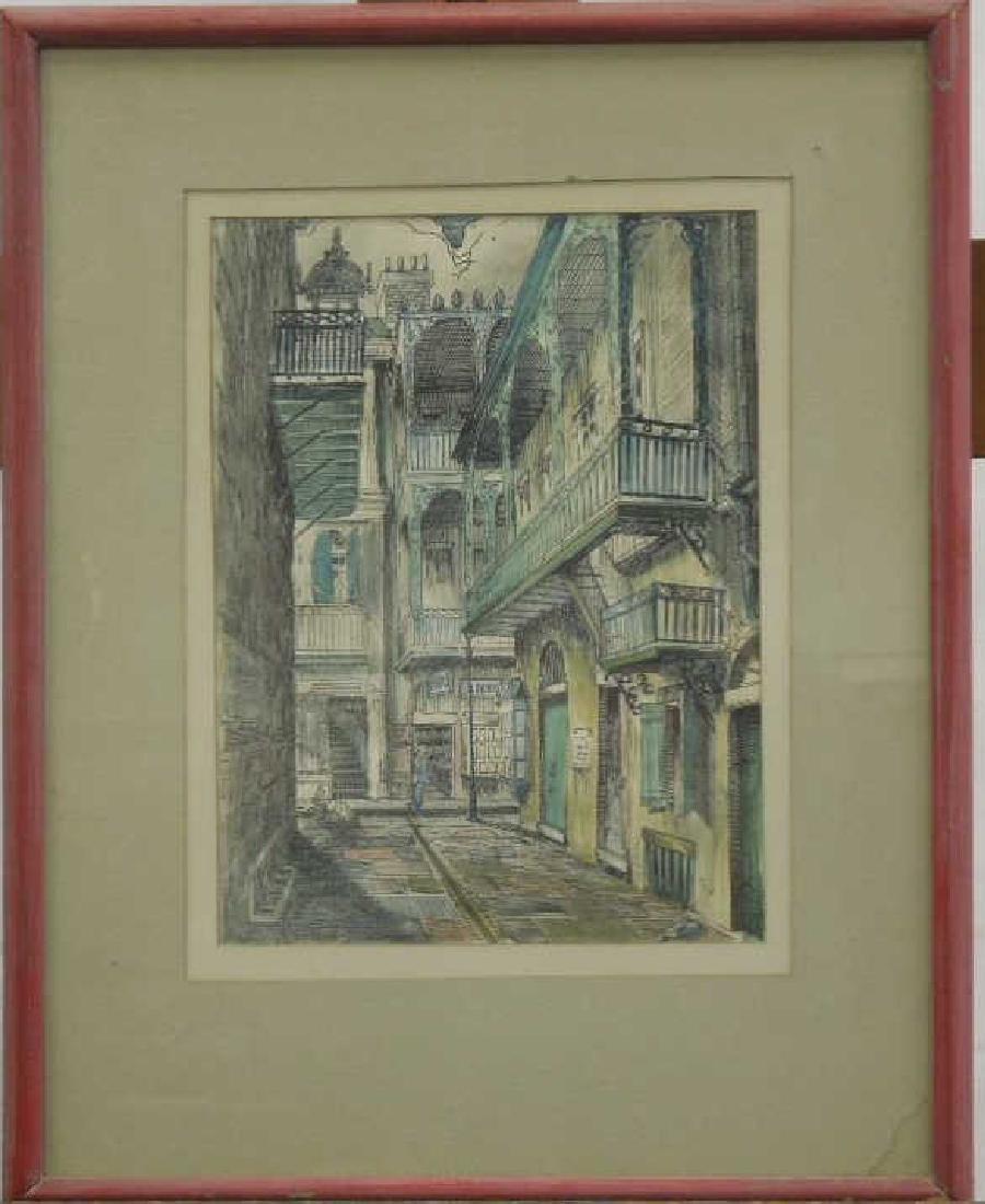 Malcolm Paul Newman Watercolor