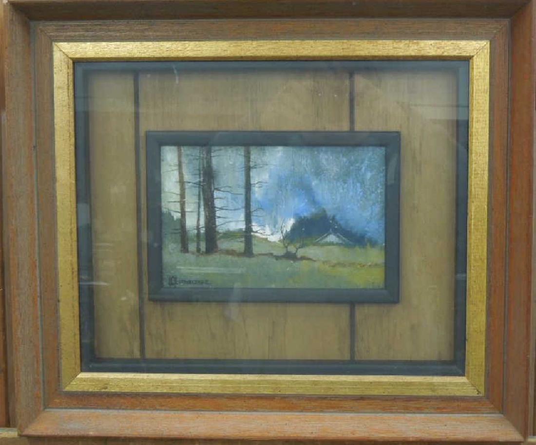 Hornberger Oil Painting on Slate