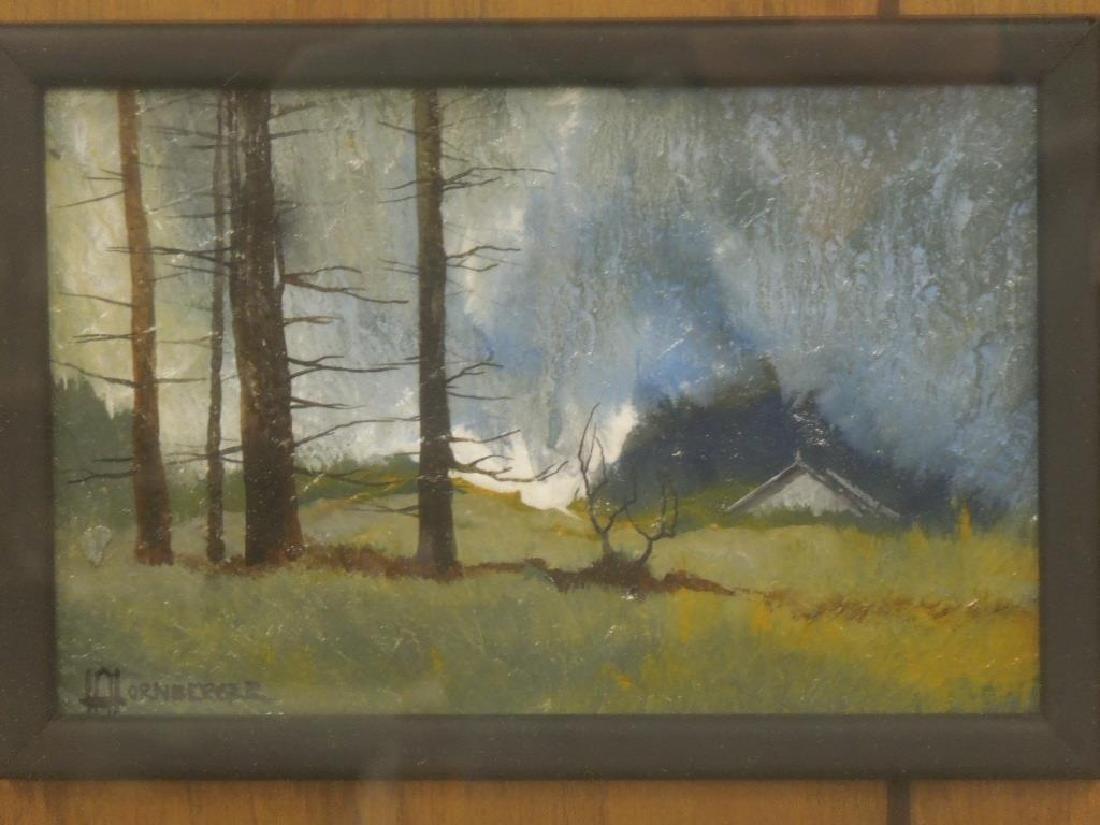 Hornberger Oil Painting on Slate - 2
