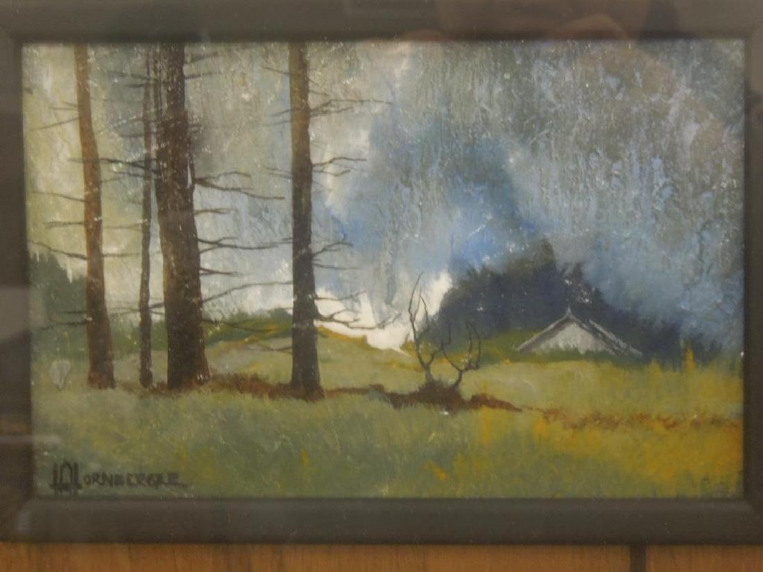Hornberger Oil Painting on Slate - 4