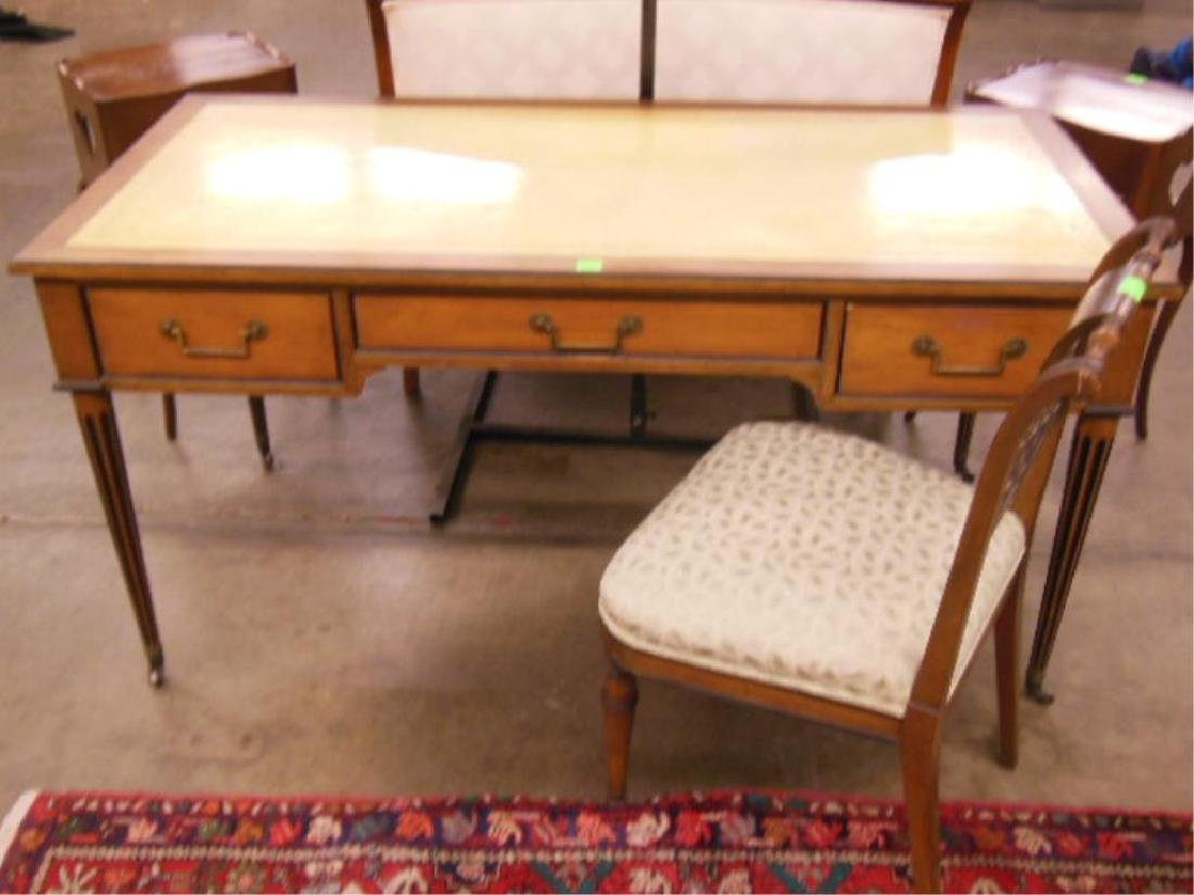 Baker Director Style Flat Top Desk & Chair