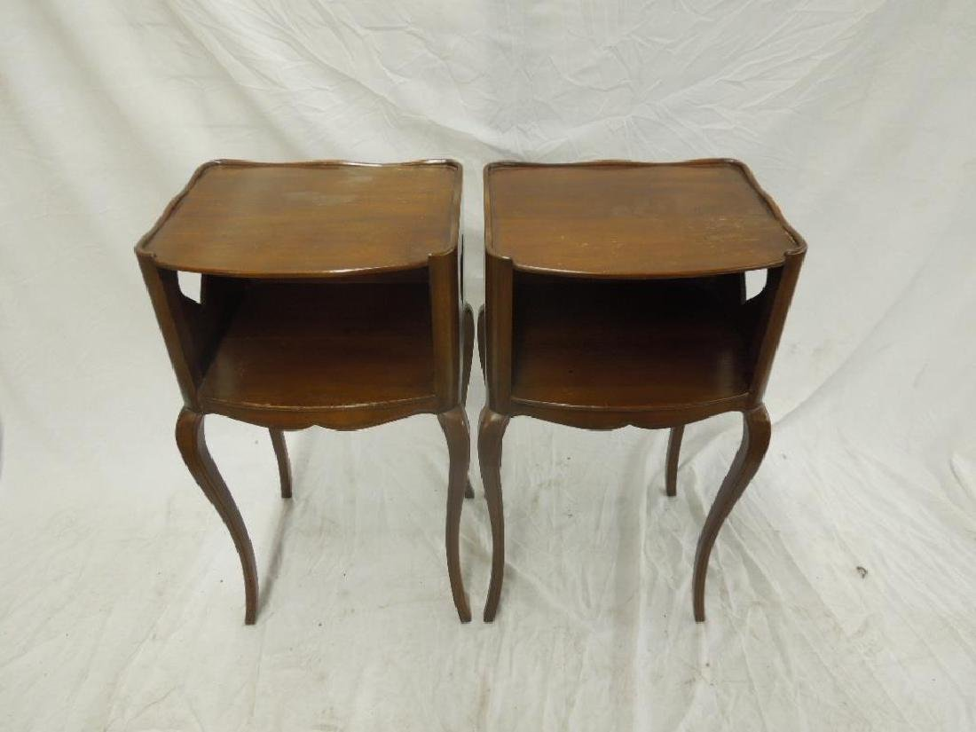 Pr French Provincial Night Stands - 2