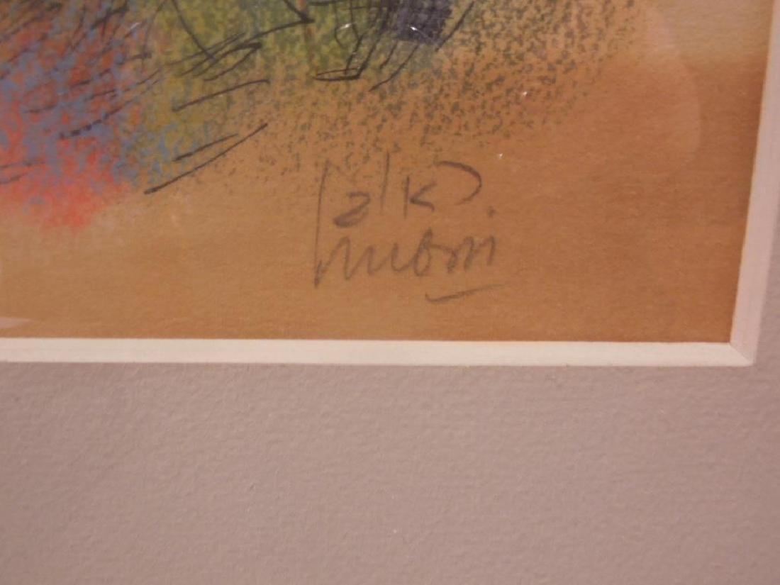 (Reuven) Rubin Color Lithograph - 3