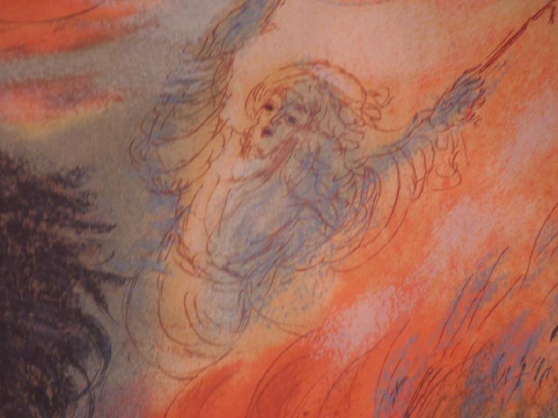 (Reuven) Rubin Color Lithograph - 7