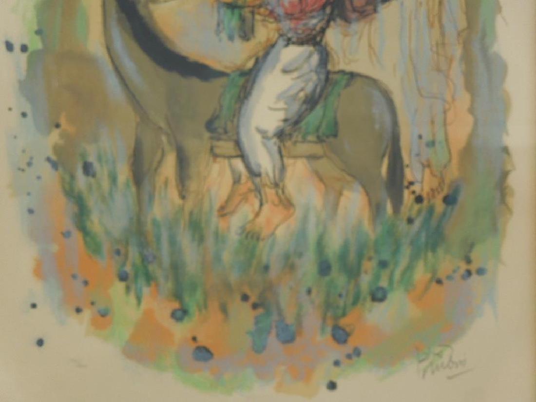 (Reuven) Rubin Color Lithograph - 4