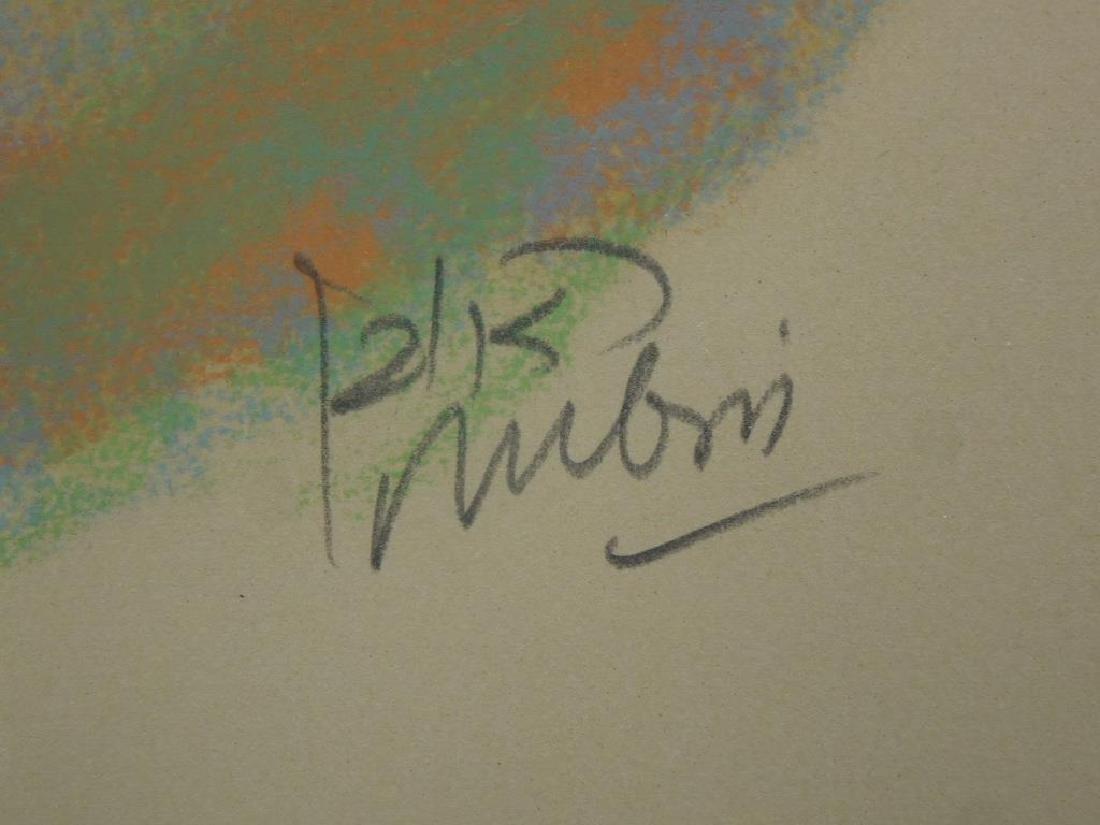 (Reuven) Rubin Color Lithograph - 6
