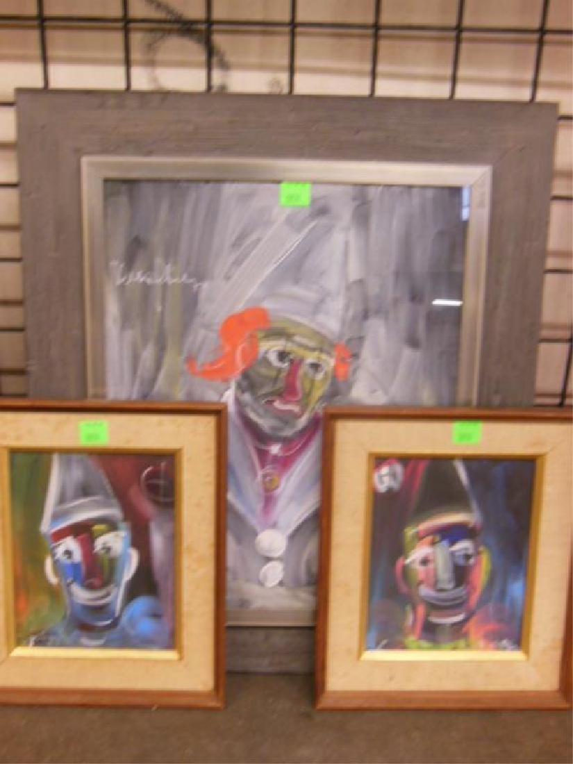 3 W. Philipp, o/p Clown Studies
