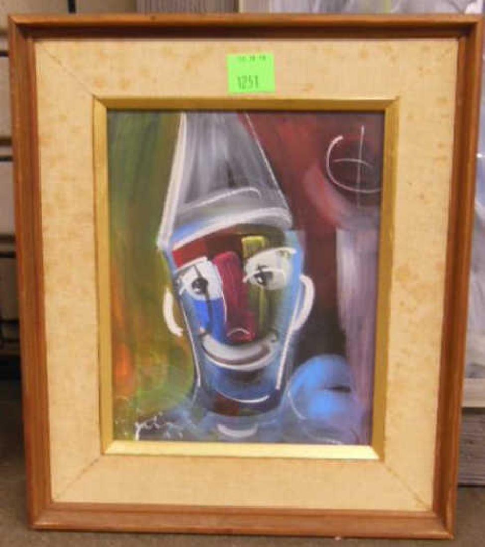 3 W. Philipp, o/p Clown Studies - 2