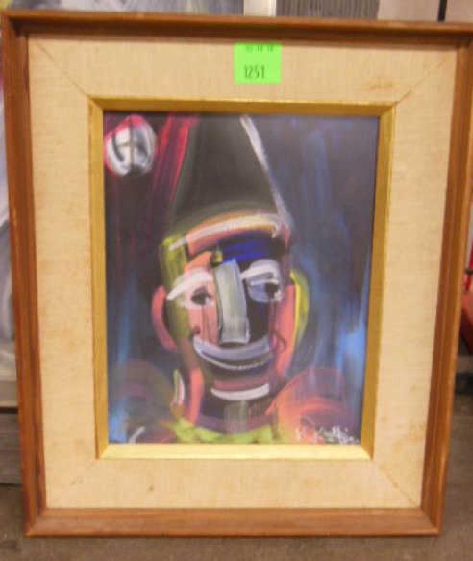 3 W. Philipp, o/p Clown Studies - 3