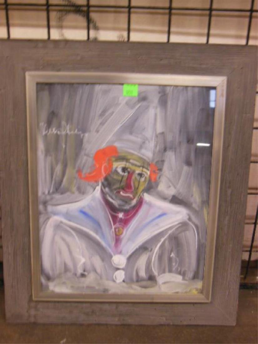 3 W. Philipp, o/p Clown Studies - 6