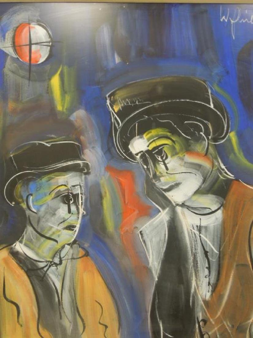 2 W. Philipp, o/p Clown Study - 5