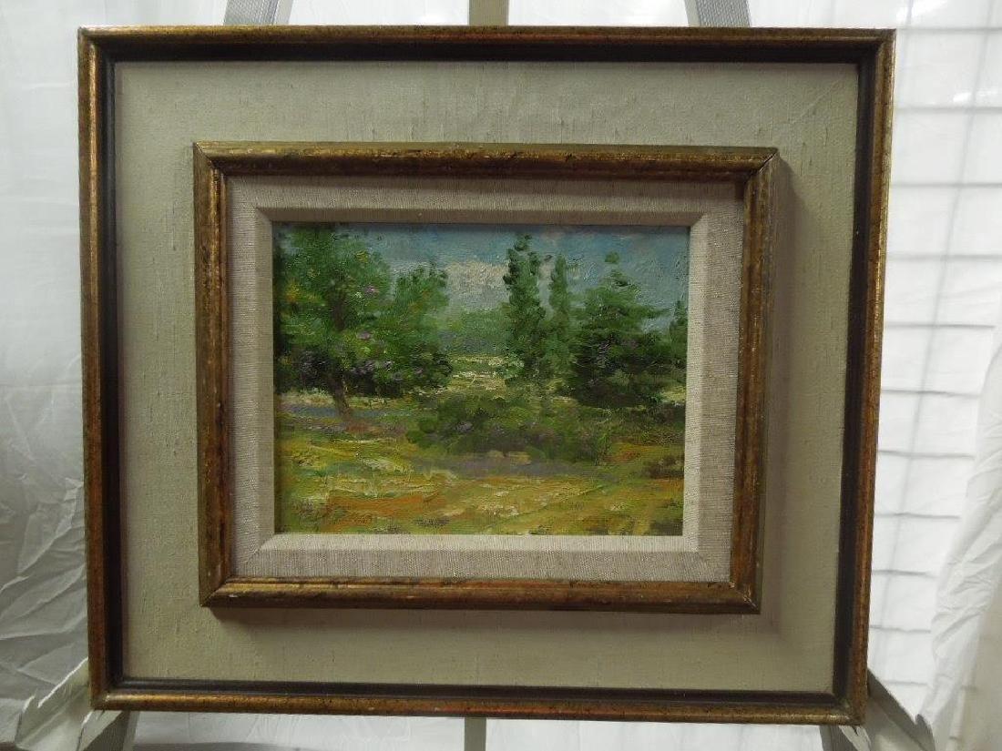 """M. Jackson, o/c, """"French Landscape"""""""