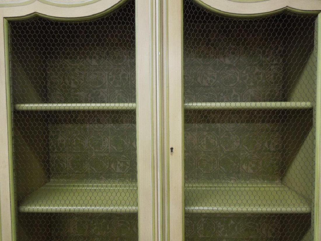 Baker Jacobean Style Secretary Bookcase - 3
