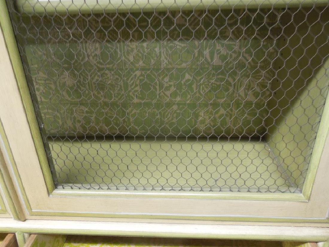 Baker Jacobean Style Secretary Bookcase - 5