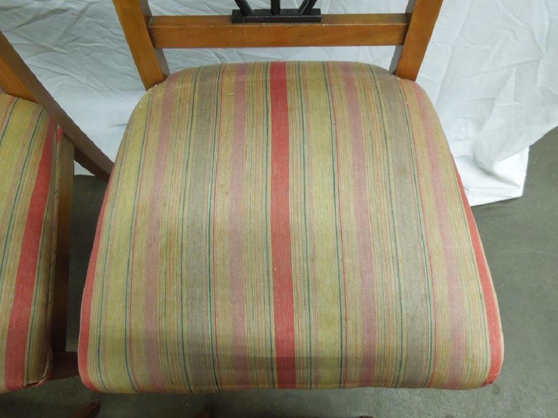 Set of 4 Antique Biedermeier Side Chairs - 4