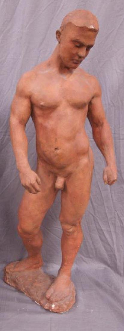 Sculpture of a Male Nude